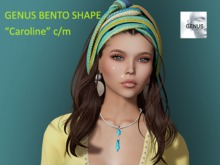 """Caroline"" Bento Shape for Genus Project Head"