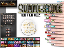 .: RatzCatz :. MeshNails for TMP *SUMMERTIME* (wear to unpack)