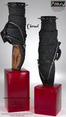 AZOURY - Charnel Ballet Shoe {Onyx}
