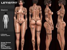 Letis Tattoo :: Dakini ::  Full Body Tattoos Bakes On Mesh & Legacy Maitreya and more Appliers