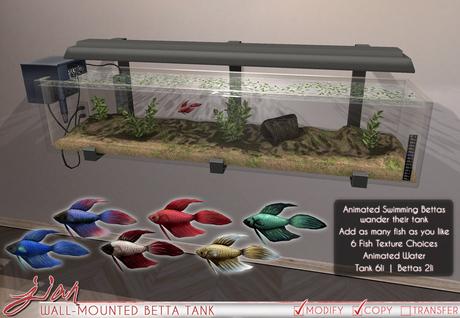 JIAN Wall-Mounted Betta Tank