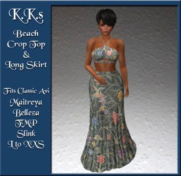 Batik Topper ~ Maxi Length