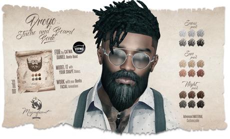 Second Life Marketplace Mf Daniel Bento Drogo Stache Beard
