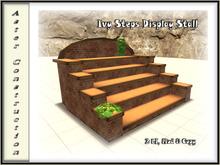 Ivy Steps Display Stall - Brown Brick