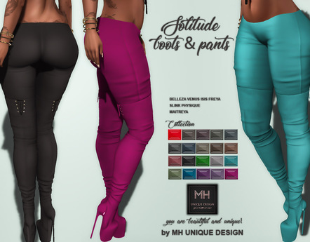 GIFT  MH-Solitude Boots & Pants Collection