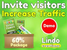Lindo - Increase Land Traffic - Invite Visitors (Demo)
