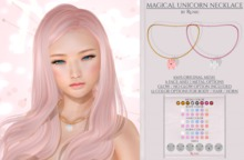 .: Runic :. Magical Unicorn Necklace