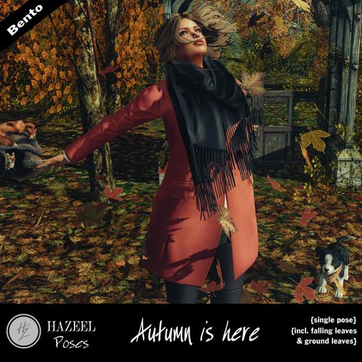 .::Hazeel::. Autumn is here ~ Bento Pose