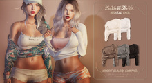 Tee*fy Winnie Slouchy Sweater   -  Neutral Pack
