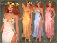 DEMO Odilia Gown by Caverna Obscura - various mesh bodies