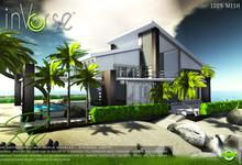 inVerse® MESH - RIO-  furnished modern contemporary  house