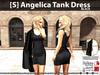 [S] Angelica Tank Dress Black