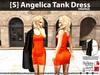 [S] Angelica Tank Dress Orange