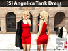 [S] Angelica Tank Dress Red
