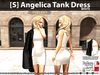 [S] Angelica Tank Dress White