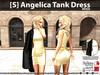 [S] Angelica Tank Dress Beige