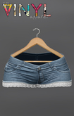 Vinyl - Author Denim Shorts Pak Blue
