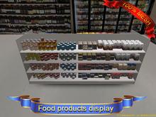 Food products display(ADD)(BOX)-Freedom creations