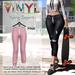 Vinyl - Sylvia Joggers Pak Pink