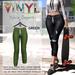 Vinyl - Sylvia Joggers Pak Green
