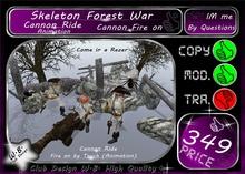 * Skeleton Forest War * Halloween *