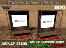 Route 84 Customs - Caspervend Display Stand