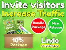 Lindo - Increase Land Traffic - Invite Visitors (Commission 10%)