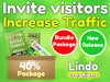 Lindo - Increase Land Traffic - Invite Visitors (Commission 40%)
