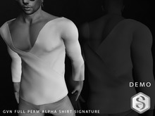 GVN FULL PERM ALPHA SHIRT SIGNATURE DEMO