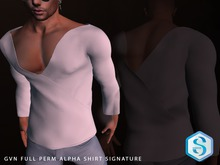 GVN FULL PERM ALPHA SHIRT SIGNATURE