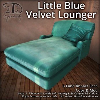 [DDD] Little Blue Velvet Lounger [Lite/PG]