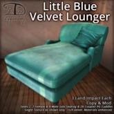 [DDD] Little Blue Velvet Lounger [Lite/PG]