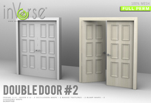 Double door with frame #2 MESH full permission bxd