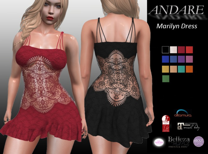ANDARE - Marilyn Dress
