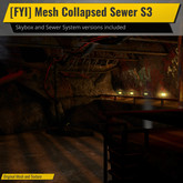 [FYI] Mesh Collapsed Sewer Tunnel S3