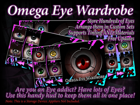 Omega Add-On: Eye Wardrobe
