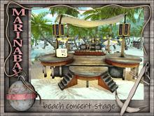 beach concert stage