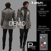 COAT & pants LANZO  set DEMO-Pierre Styles