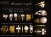 KUNGLERS - Rowen rings - Crystal