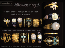 KUNGLERS - Rowen rings - Turmaline