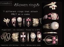 KUNGLERS - Rowen rings - Quartz