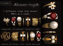 KUNGLERS - Rowen rings - Citrine