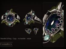KUNGLERS - Ria set - Sapphire