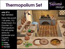 Thermopolium Set - Ancient Roman Tavern Interior Set