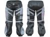 Mp main empty 1 space biker pants with belt