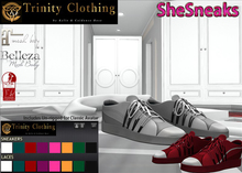 TCShoes - SheSneaks - Sneakers with Hud (Maitreya/Belleza/Slink/Unrigged)