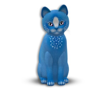 KittyCatS Box - 2T Confetti BlueBerry Soul Sparkle eyes