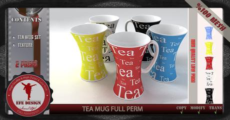 Tea Mug Full Permission EFE DESIGN / Gift