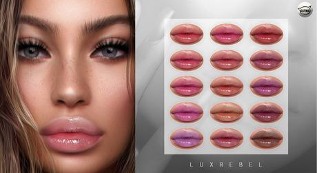 LUXREBEL - Rose Glossy Lipstick (Catwa)