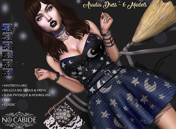 No Cabide :: Aradia Dress - HUD 6 Models #GG